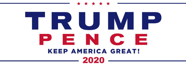 Trump Pence 2020 - Keep America Great